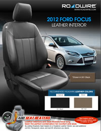 ford leather seat